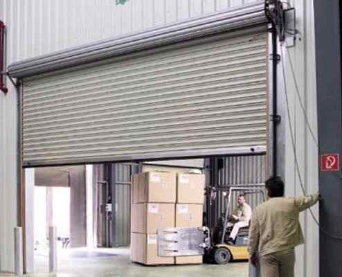 Motor Porta Enrolar Aço Loja 500kgs Chapa Testeira Botoeira