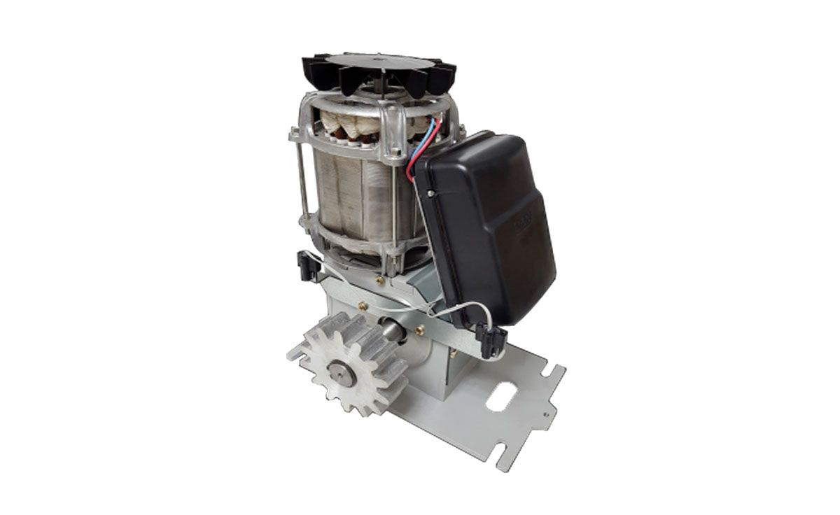 Motor Portao Deslizante 1hp Rcg Dz Strong Industrial 2000kgs