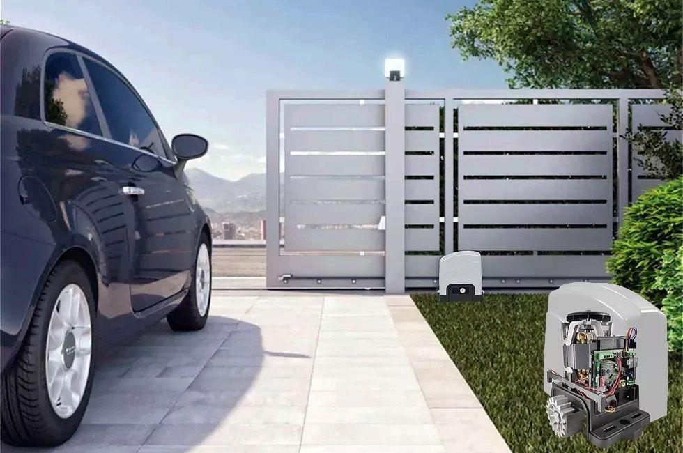 Motor Portao Deslizante Agl Dz Trino 500 Speed 500kgs 1/2hp