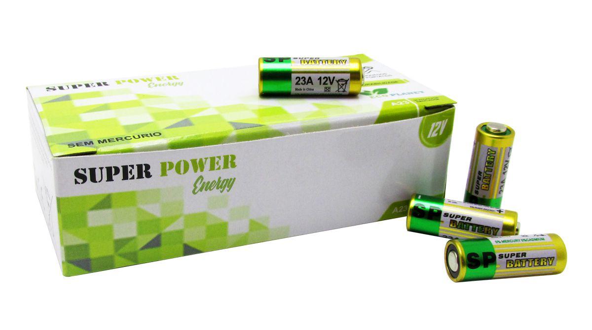 Pilha Alcalina Bateria 12v A23 Controle Portão Alarme