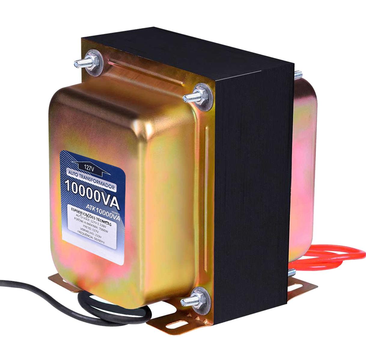 Transformador De Voltagem 10000va 7000w 110/220v E 220/110v