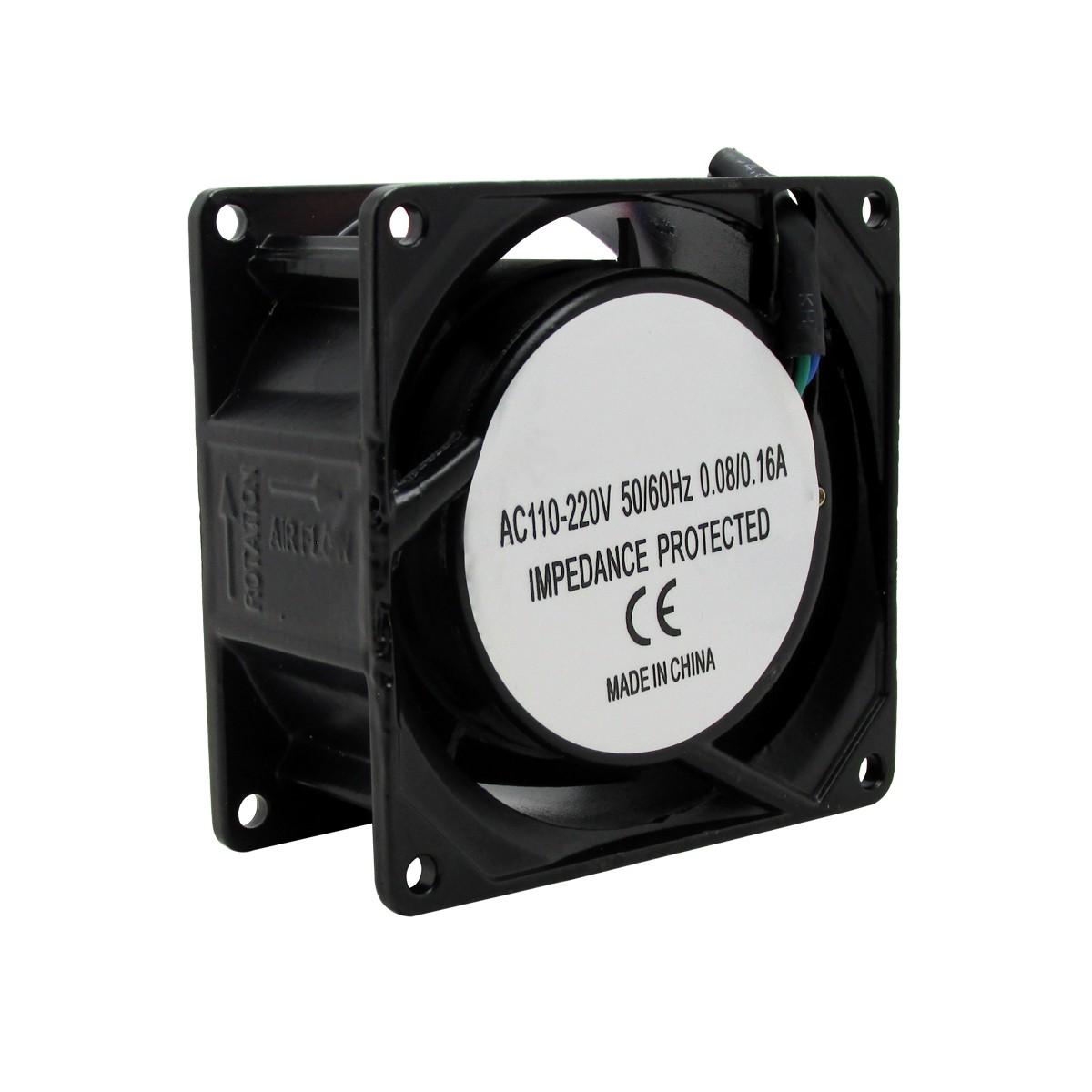 Ventilador Cooler Ventuinha Fan 80x80x38 110v 220v Bivolt