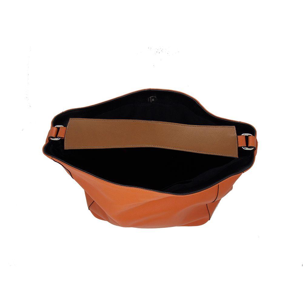Bolsa Saco Feita em Couro Original Cenoura - Colatto