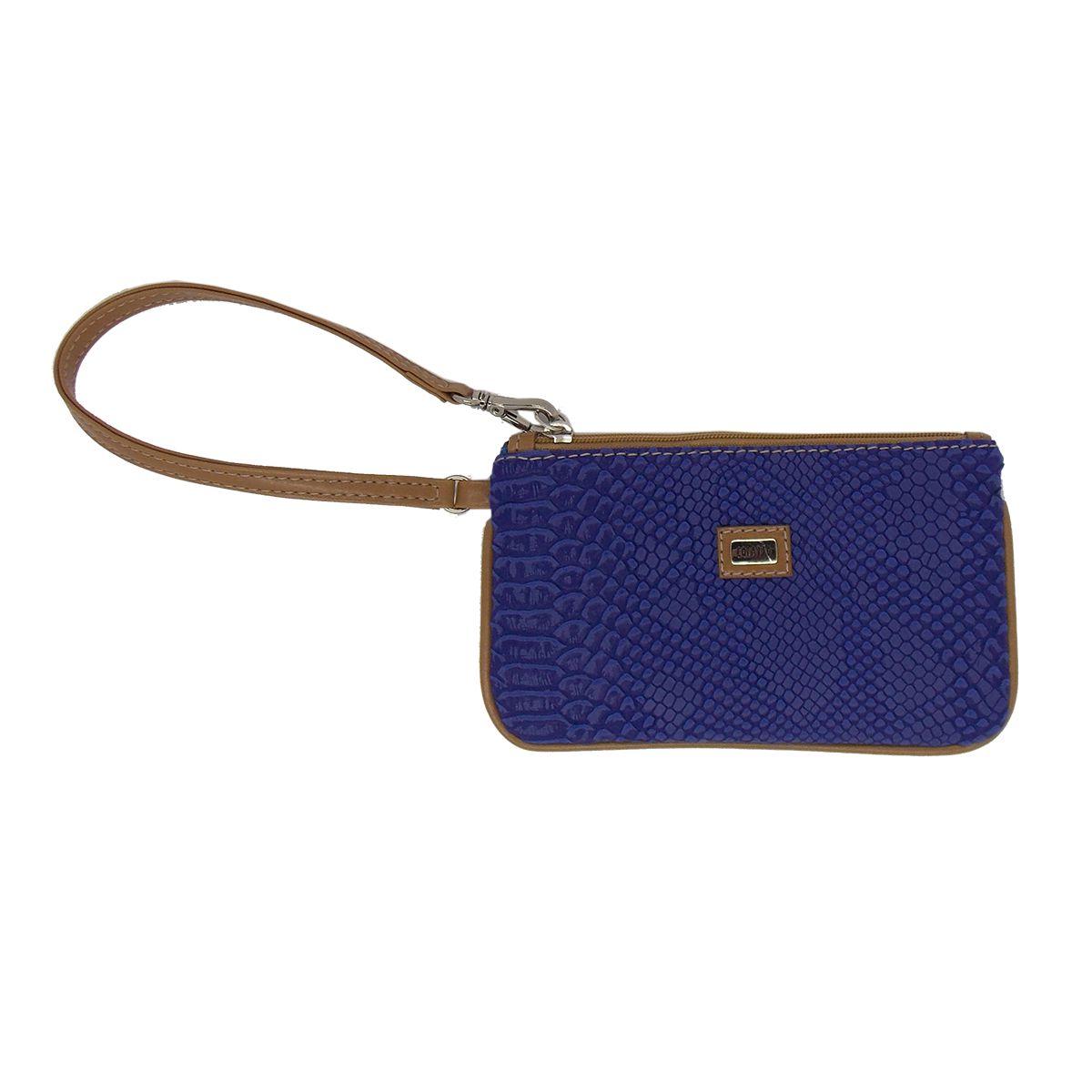 Carteira de Mão Porta Celular Azul Royal - Colatto