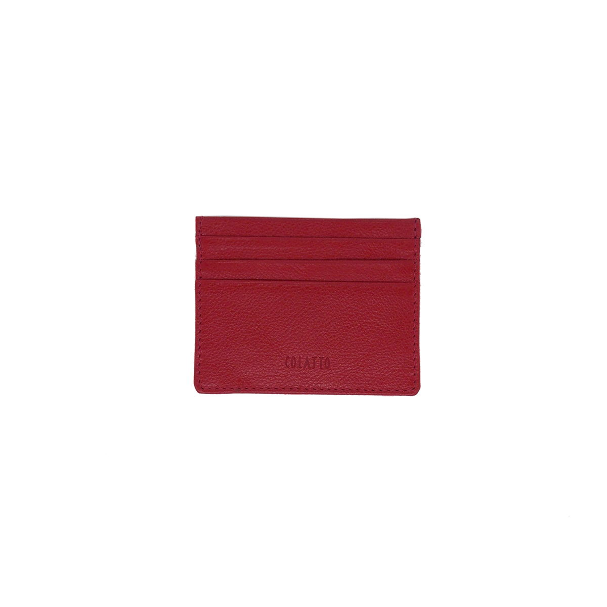 Carteira Porta Cartão de Crédito de Couro Legitimo Pimenta