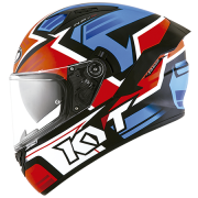 Capacete KYT NF-R Artwork Red/Blue