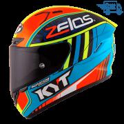 Capacete KYT NX Race Xavi Simeon Replica Blue