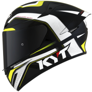 Capacete KYT TT-Course Grand Prix Black/Yellow