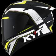 Capacete KYT TT-Course Grand Prix Black/Yellow