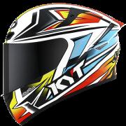 Capacete KYT TT-Course Kasma Daniel Replica