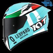 Capacete KYT TT-Course Lorenzo Dalla Porta Replica