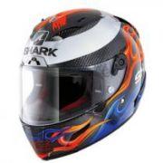 Capacete Shark Race R Pro Replica Lorenzo 2019 KBR Promoção