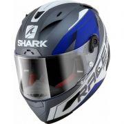 Capacete Shark Race R Pro  Sauer Matt AWB Promoção