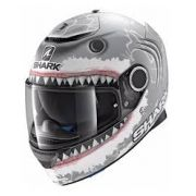 Capacete Shark Spartan Replica Jorge Lorenzo Whit Shark