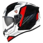 Capacete Suomy  Speedstar Airplane White/Red