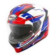 Capacete Suomy  Speedstar Camshaft Blue/White/Red Promoção