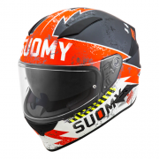 Capacete Suomy  Speedstar  Propeller Matt Anthracite/Red