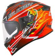 Capacete Suomy Stellar Boost Orange