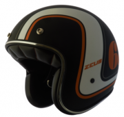Capacete Zeus 380H V2 Rusty 3  Matt Black/K36 Orange