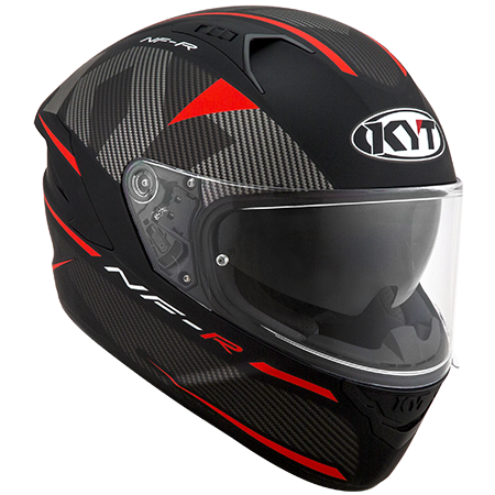 Capacete KYT NF-R  Logos Matt Red