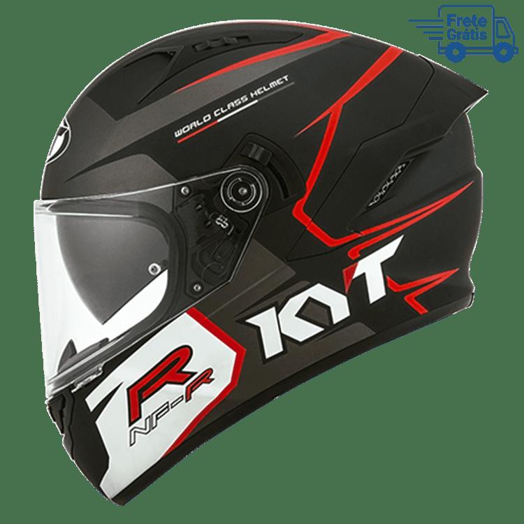 Capacete KYT NF-R Track Matt Grey