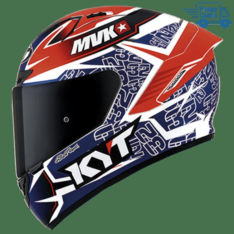 Capacete KYT NX Race Isaac Vinales Replica  Blue