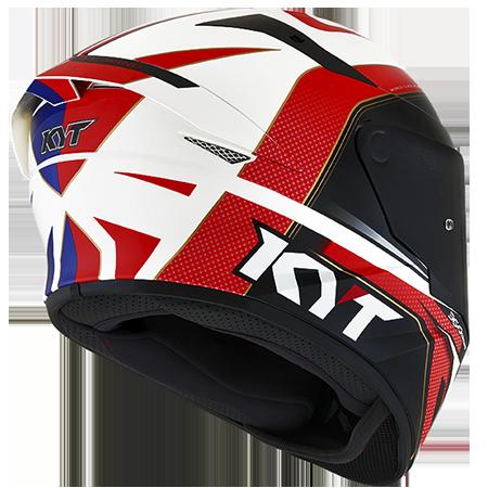 Capacete KYT TT-Course Grand Prix Blue/Red