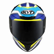 Capacete KYT TT-Course Grand Prix White/Blue