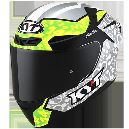 Capacete KYT TT-Course Tony Arbolino Replica