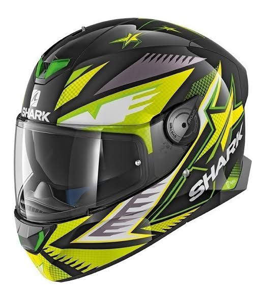 Capacete Shark D-Skwal Draghal KGY