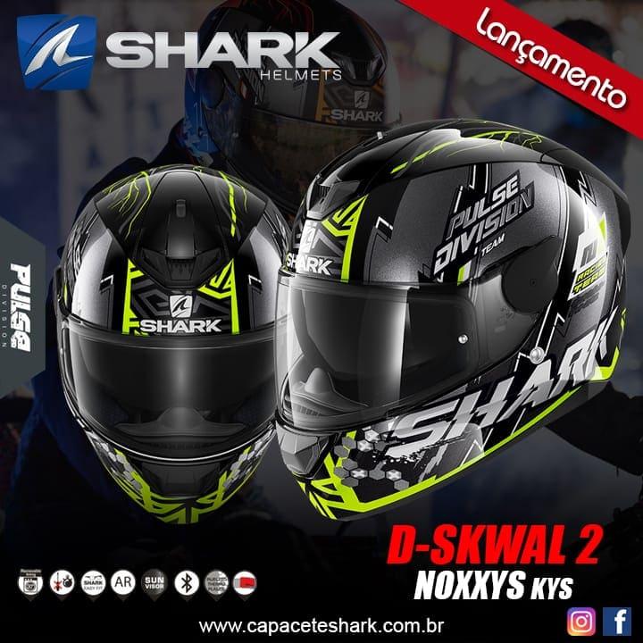 Capacete Shark D-Skwal V2  Noxxys KYS