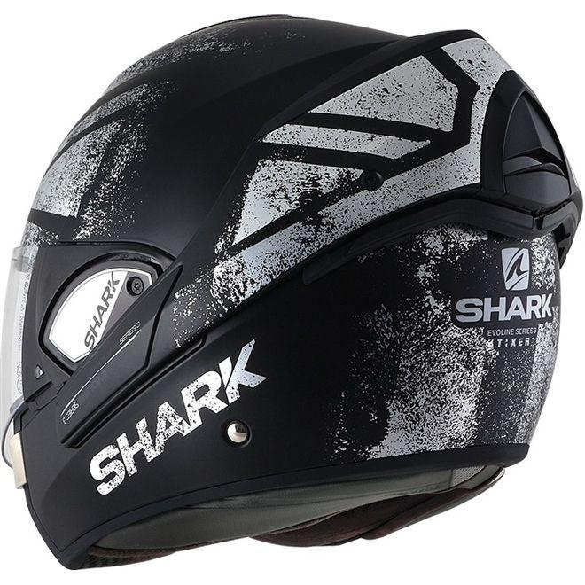 Capacete Shark Evoline S3 Tixer Matt KUS Promoção