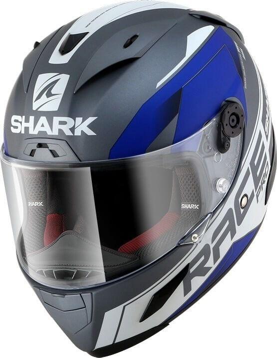 Capacete Shark Race R Pro  Sauer Matt AWB