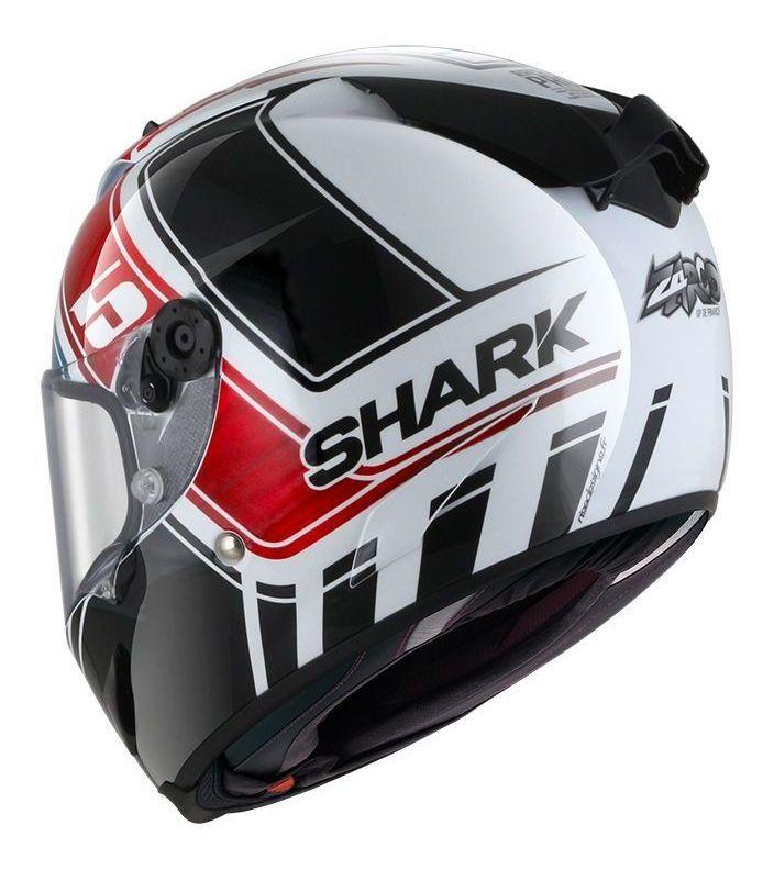 Capacete Shark Race R Pro  Zarco GP De France Glossy WBR Promoção