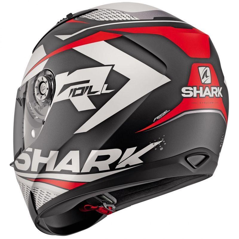 Capacete Shark Ridill Stratom MATT KWR Promoção