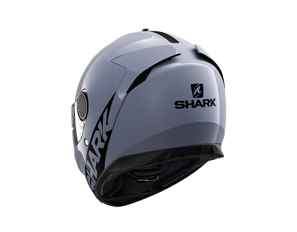Capacete Shark Spartan Blank SAK Branco S01