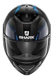 Capacete Shark Spartan Carbono Azul DBA  Promoção