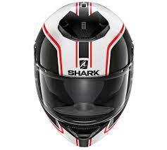 Capacete Shark Spartan Priona WkR Branco Preto Promoção