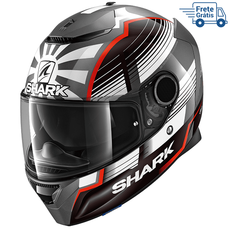 Capacete Shark Spartan Zarco Malasyan GP Glossy AWR