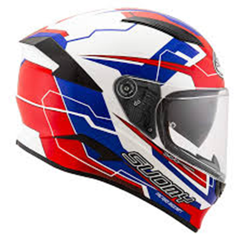 Capacete Suomy  Speedstar Camshaft Blue/White/Red