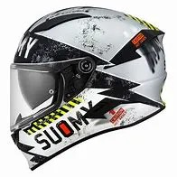 Capacete Suomy  Speedstar   Propeller Matt Silver/Black