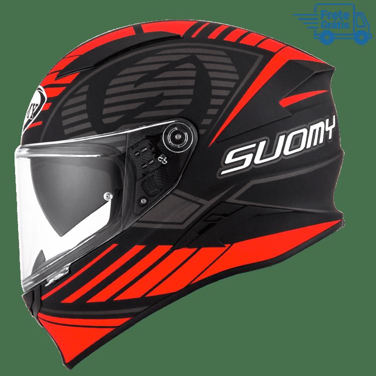 Capacete Suomy Speedstar SP-1 Matt RED