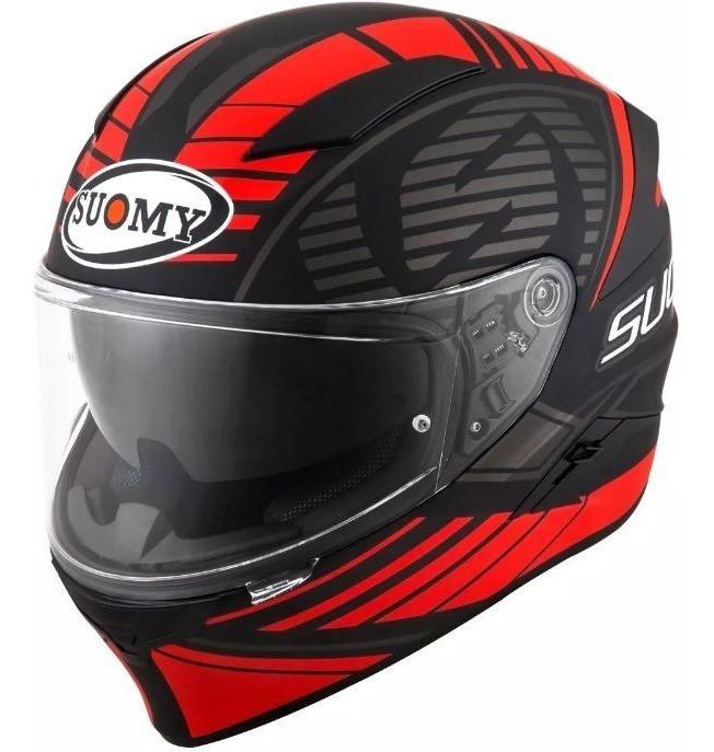 Capacete Suomy  Speedstar SP-1 Matt Red Promoção