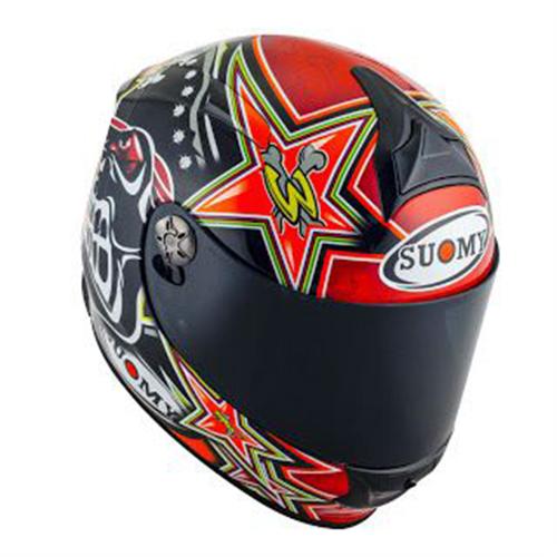 Capacete Suomy SR Sport Biaggi 2015 Replica Red Promoção