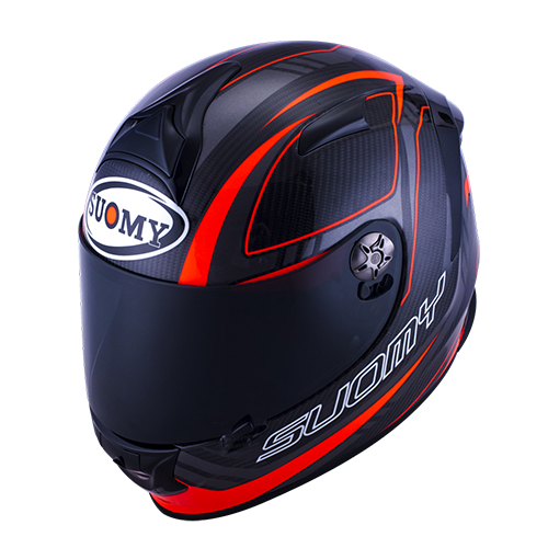 Capacete Suomy Sr Sport Carbon Red