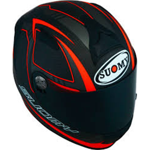 Capacete Suomy Sr Sport Carbon Red