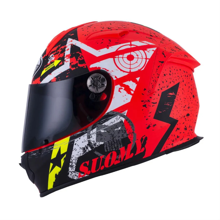 Capacete Suomy Sr Sport Star Matt Orange