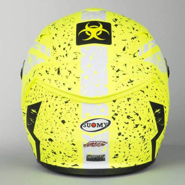 Capacete Suomy Sr Sport Star Matt Yellow Fluo