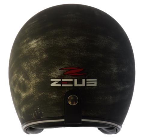 Capacete Zeus 380H V2 Rusty 3  Matt Blue Gold