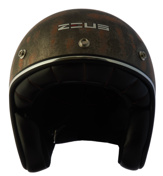 Capacete Zeus 380H V2 Rusty 3  Matt Metal Orange